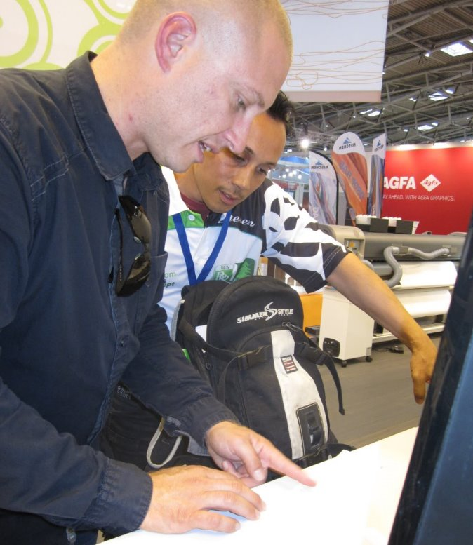 trening with customer