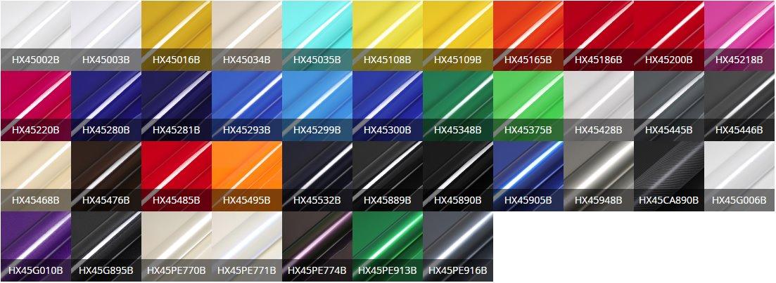 HX45000 paleta 2017