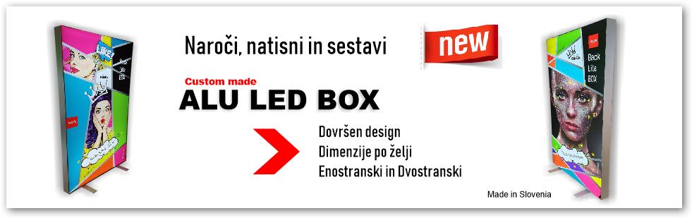 web banner veliki ALU LED BOX s senco