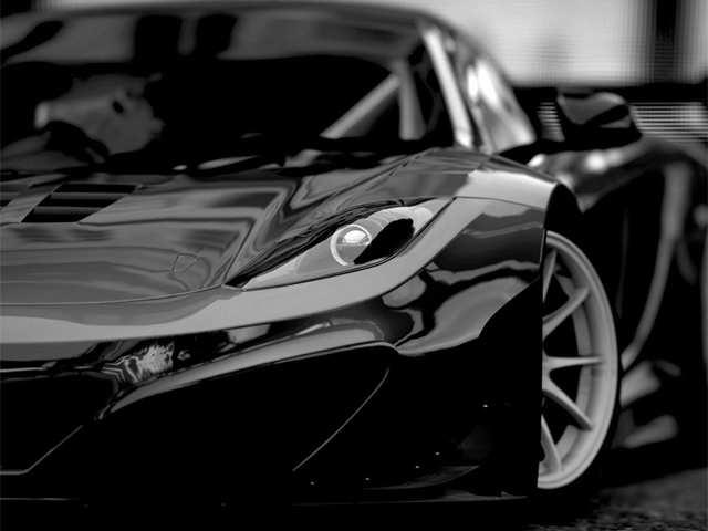 Bodyfence black car