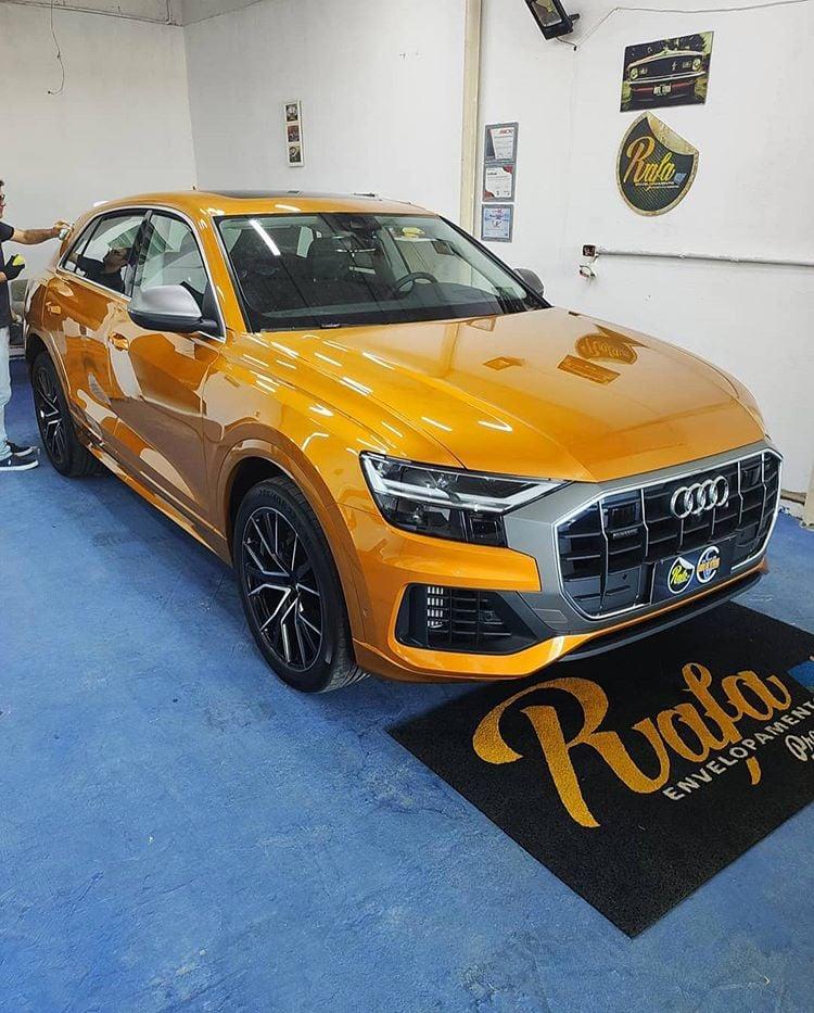 Bodyfence yellow car 04